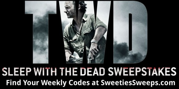 AMC's The Walking Dead Sleep With The Dead Sweepstakes Codes