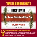 Slideshow Memories Holiday Giveaway ($1,850 Value) 11/25/15 1PP18+