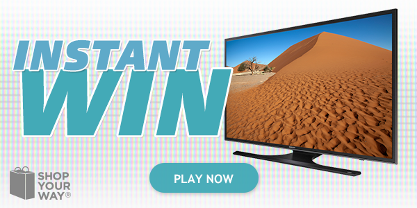 Shop Your Way 4K TV Premium Instant Win Game