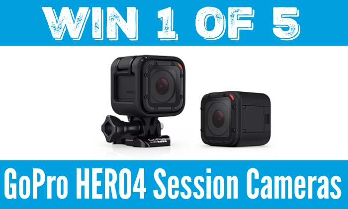 Domestic Dad GoPro Action Camera #HERO4Session Giveaway