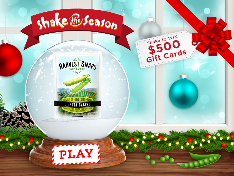 Harvest Snaps Shake the Season Instant Win Game