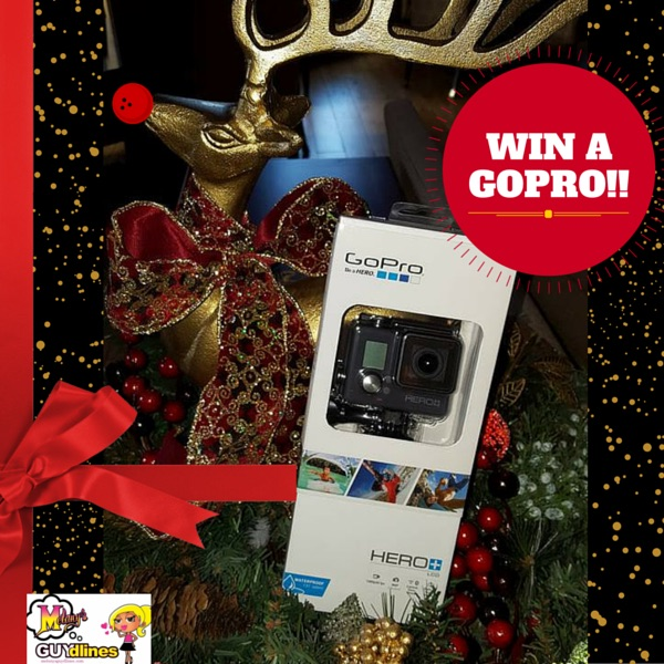 Win a GoPro Hero Plus LCD Waterproof Camera