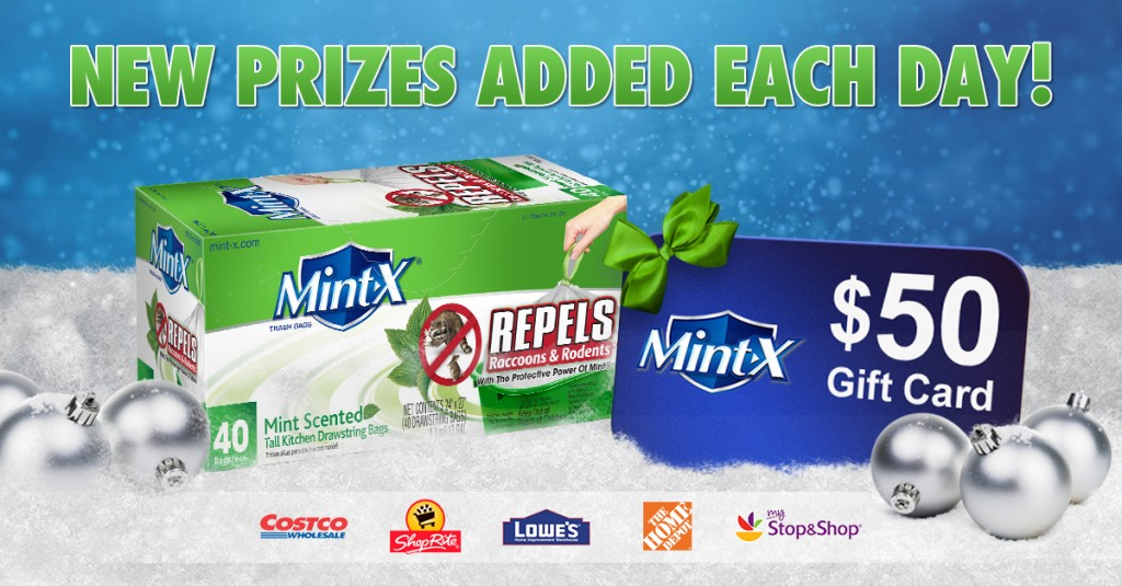 12 Days of Mint-X Sweepstakes