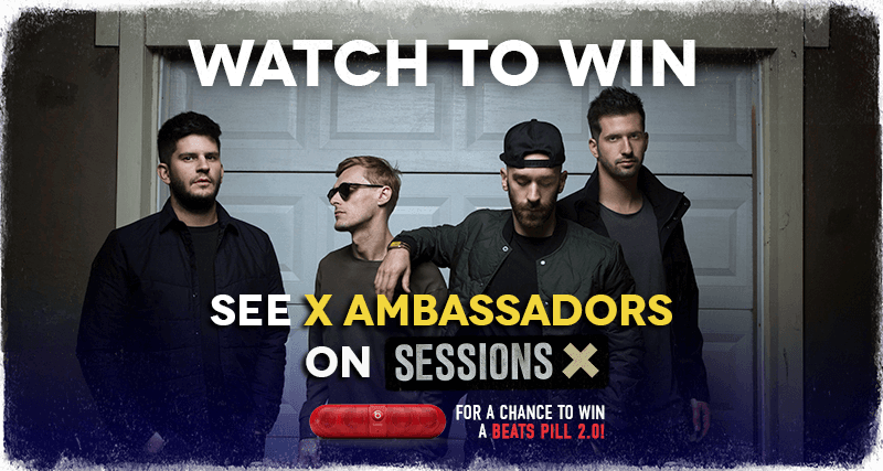 Sessions X Win a Beats Portable Speaker