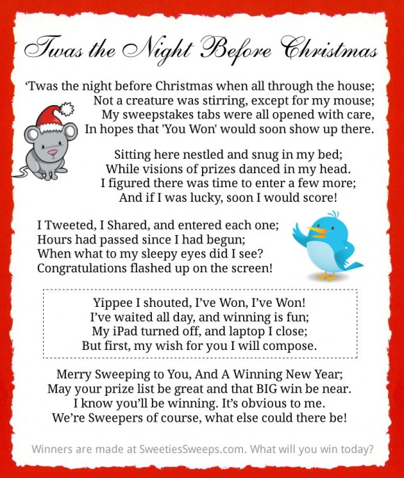 A Sweepers Ode to The Night Before Christmas