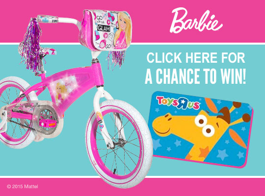 Win a Dynacraft Barbie Bicycle