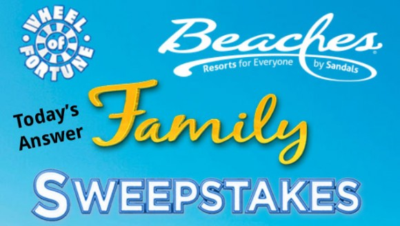 Wheel Of Fortune Beaches Resorts Family Sweepstakes Answers