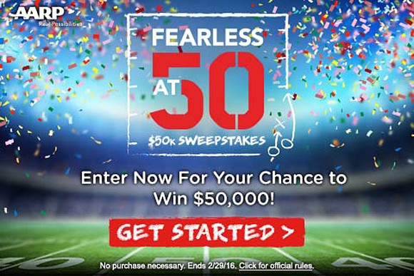 AARP Fearless Instant Win Game