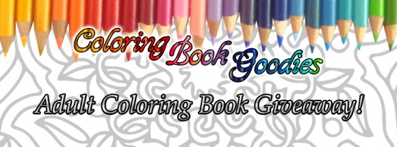 Adult Coloring Books and Supplies Giveaway