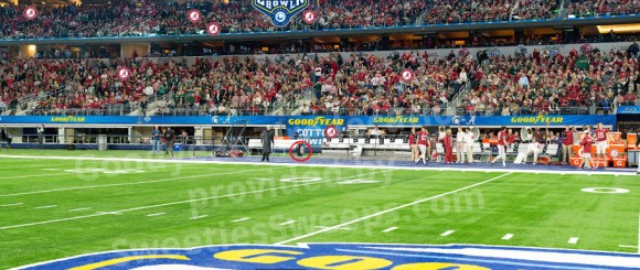 Goodyear's Cotton Bowl FANCAM Sweepstakes Tire Locations