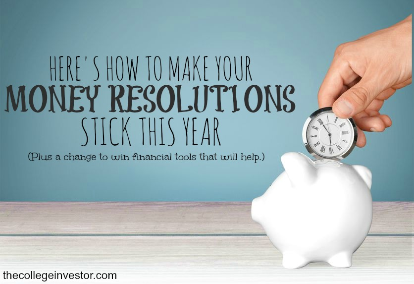 The College Investor New Year's Resolution $485 Starter Kit Giveaway