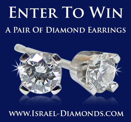 Israel Diamonds $1,000 Diamond Earrings Giveaway