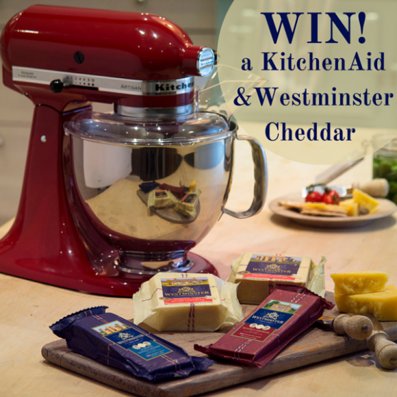 KitchenAid Westminster Cheddar Giveaway