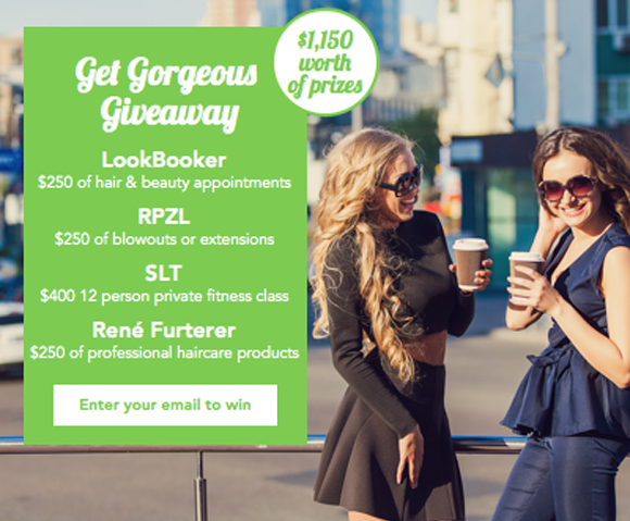 Look Booker $1,150 Get Gorgeous Giveaway