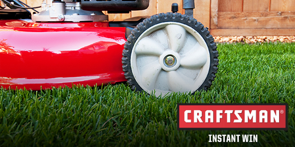 Shop Your Way Craftsman Lawn Envy Instant Win Game