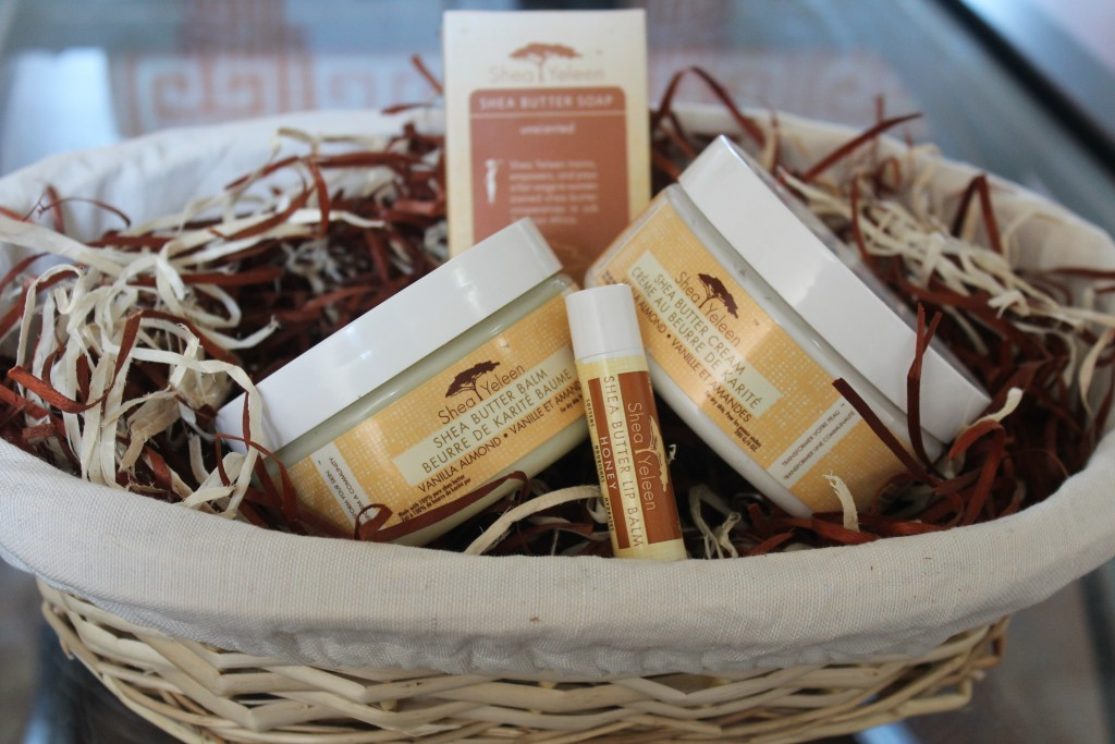 SheaYeleen.com Fair Trade Shea Butter Gift Baskets Giveaway