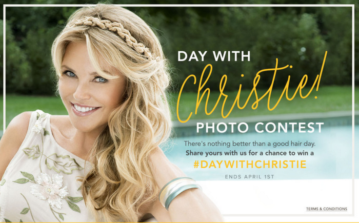 A Day With Christie Brinkley Photo Contest