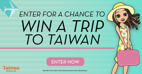 Tanya Loves Taiwan Win A Trip To Taiwan Giveaway