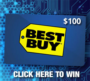 Click Here to Win a $100 Best Buy Gift Card