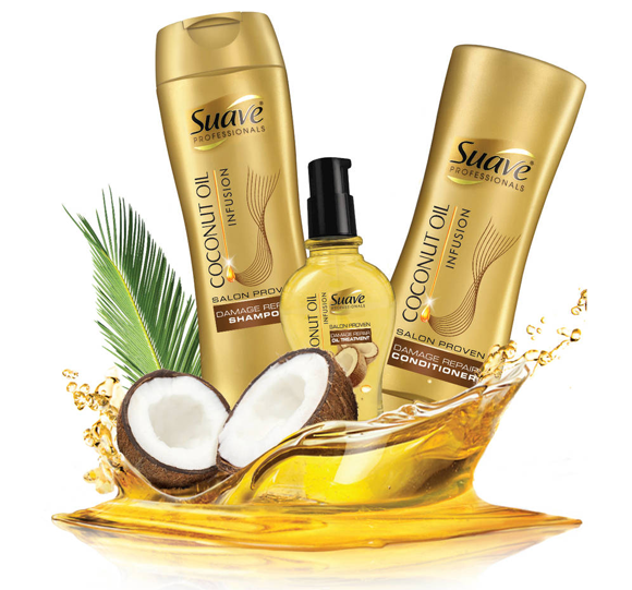 Suave Professionals Coconut Oil Infusion Damage Repair Oil Treatment