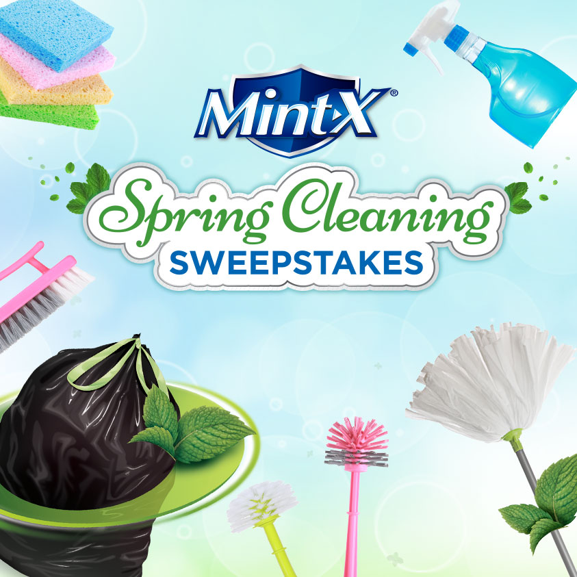 Mint-X Spring Cleaning Sweepstakes