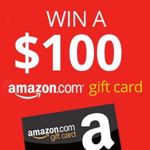 Click Here to Win a $100 Amazon Gift Card