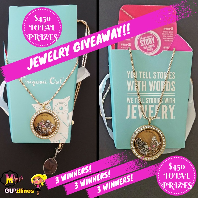 Origami Owl Living Locket Jewelry Giveaway
