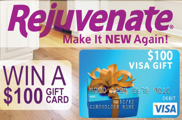 Rejuvenate $100 Visa Gift Card Giveaway