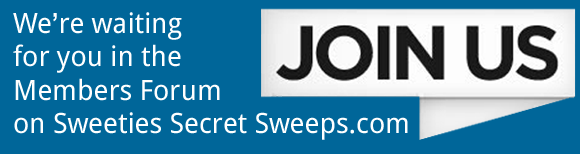 Want to win more prizes? Join Sweeties Secret Sweeps