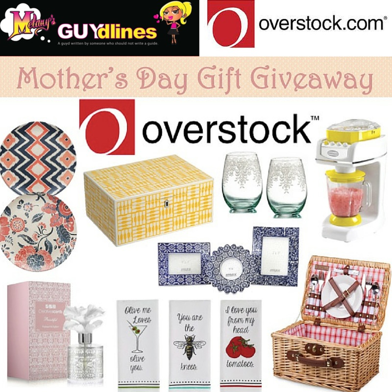 Overstock.com Mother's Day Gift Basket Giveaway
