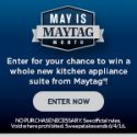 Shop Your Way May is Maytag Month Sweepstakes 6/4/16 1PP18+