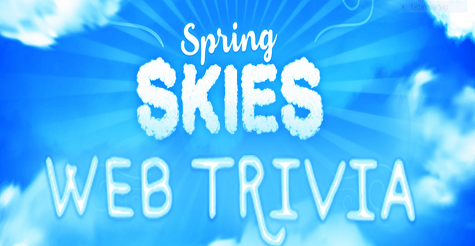 LIVE's Spring Skies Trivia WEB Edition Sweepstakes