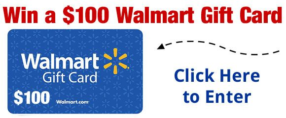 Just Free Stuff $100 Walmart Gift Card Giveaway