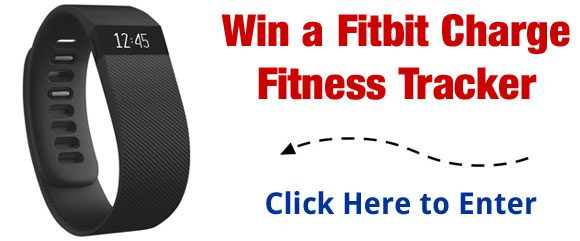win a Fitbit Charge Fitness Tracker