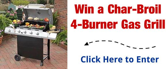 Char-Broil Gas Grill Giveaway