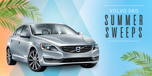 Shop Your Way Volvo S60 Summer Sweepstakes