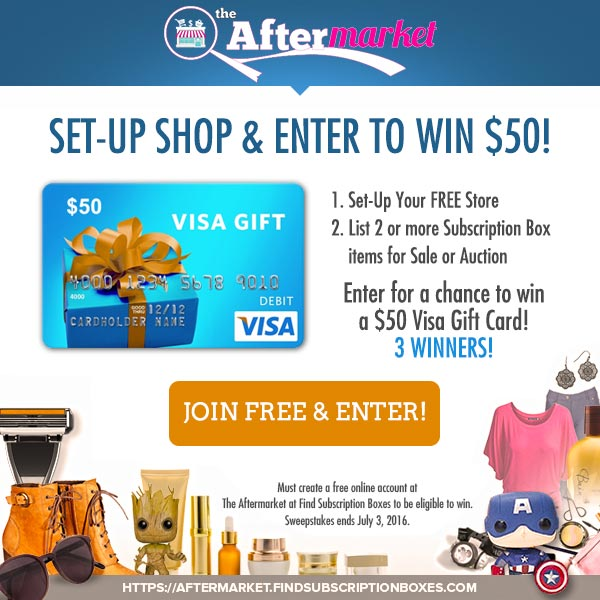 The Aftermarket Cash Giveaway