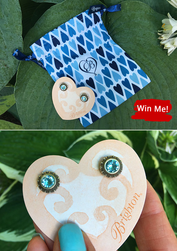 Win a pair of Brighton Sparkle Stud Earrings from SweetiesSweeps.com
