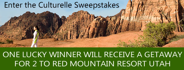 Culturelle Sweepstakes: Win a trip to a Spa in Utah