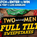 Two and a Half Men Full Tilt Sweepstakes (Word Of The Day Codes) 7/8/16 1PPD21+