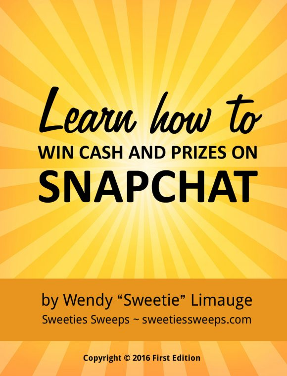 How to win cash and prizes on Snapchat