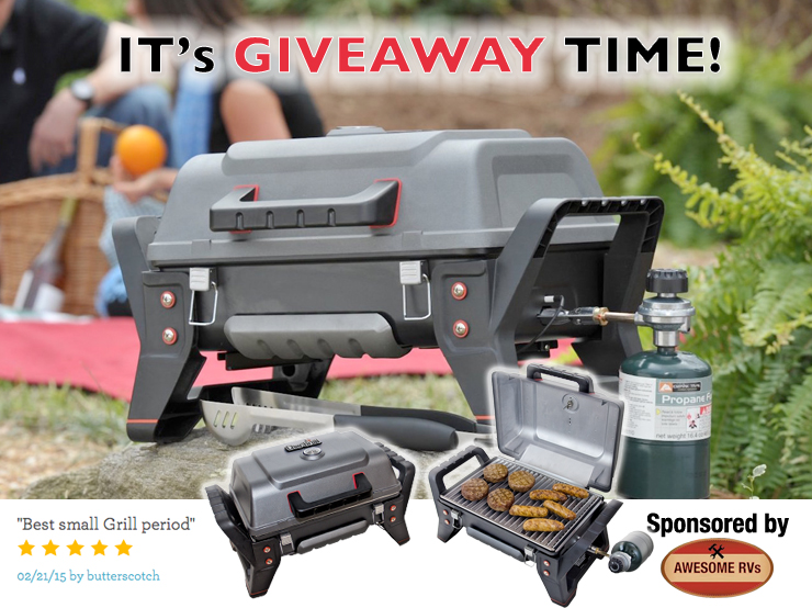 Char-Broil Grill2Go Giveaway