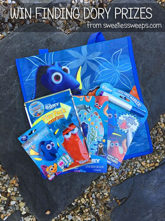 Win a Disney PIXAR Finding Dory Prize Pack from SweetiesSweeps.com