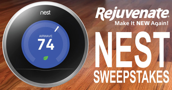 Rejuvenate Nest Learning Thermostat Sweepstakes