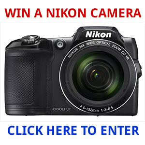 Click Here to Win a Nikon COOLPIX L840 Digital Camera