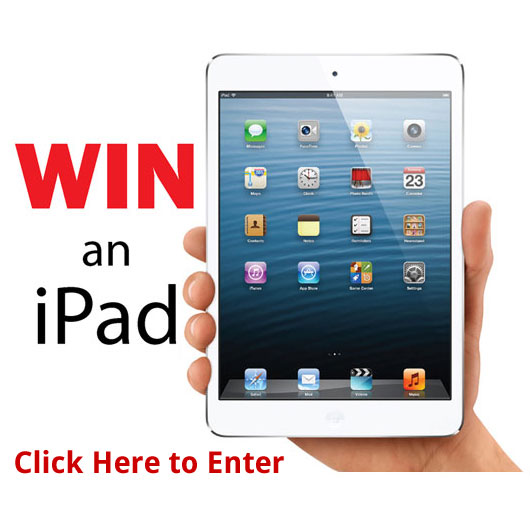 Click Here to Enter to win an iPad Mini 4