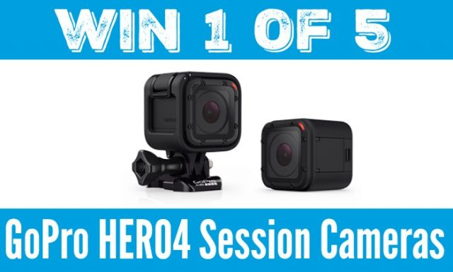 Domestic Dad GoPro HERO4 Session Camear Giveaway
