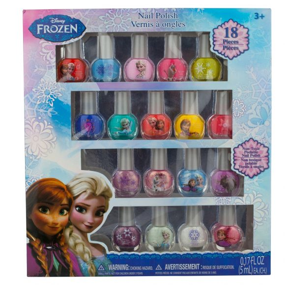 Frozen Non-Toxic Nail Polish Set