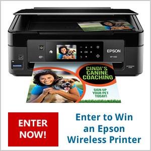 Click Here to Win an Epson Expression Wireless Color Photo Printer. Drawing September 6th