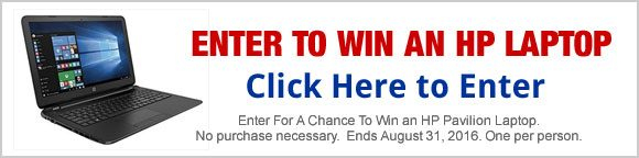 Just Free Stuff HP Pavilion 15.6-Inch Laptop Giveaway